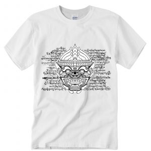 Hanuman-mask-t-shirt